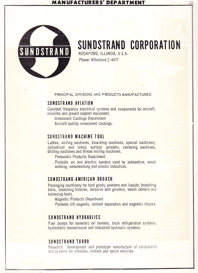 Sundstrand Corp