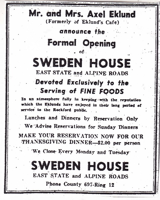 Sweden House ad