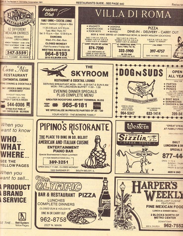 Restaurants - PAGE