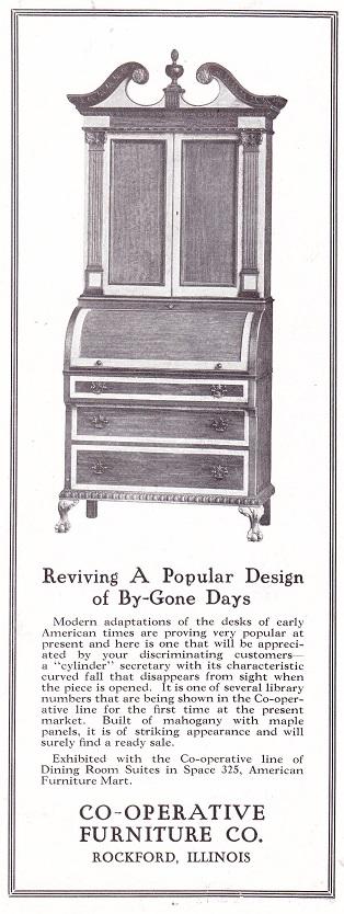 Co-Operative Furniture 7 1925