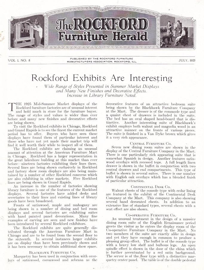 Rockford Exhibits - 1