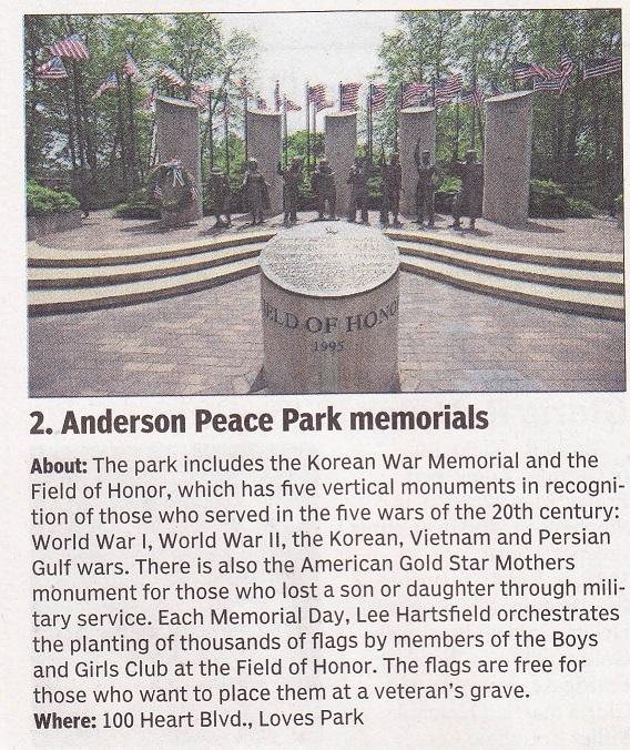 Anderson Peace Park Memorial