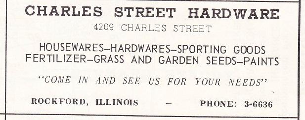 Charles St. Hardware