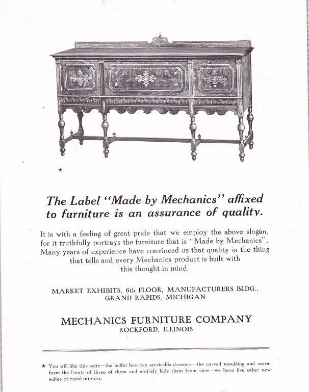Mechanics Furniture Co.