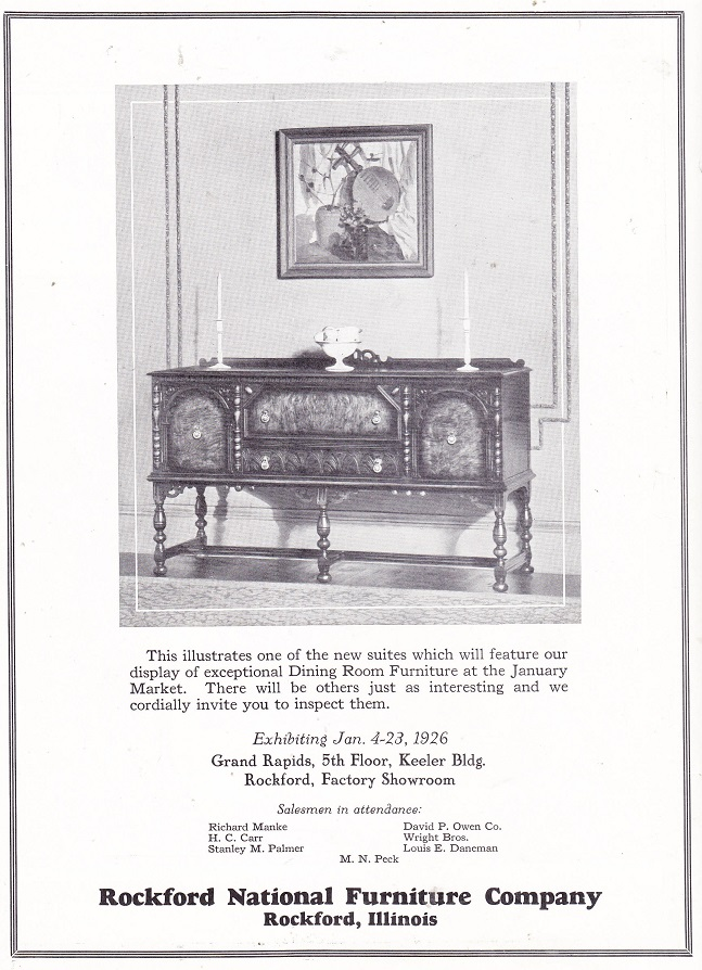 Rockford Nationall Furniture Co.