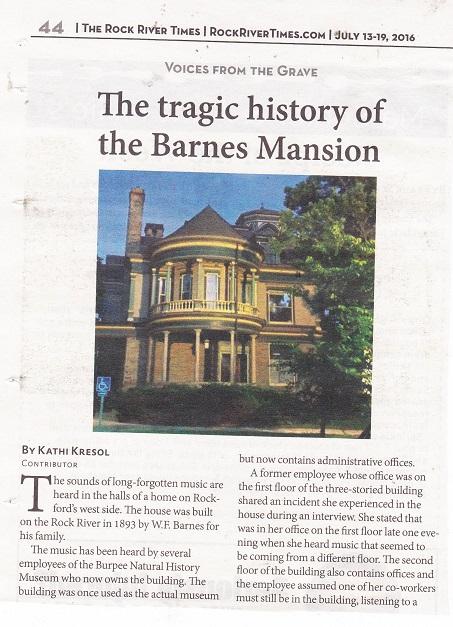 Barnes Mansion - 1