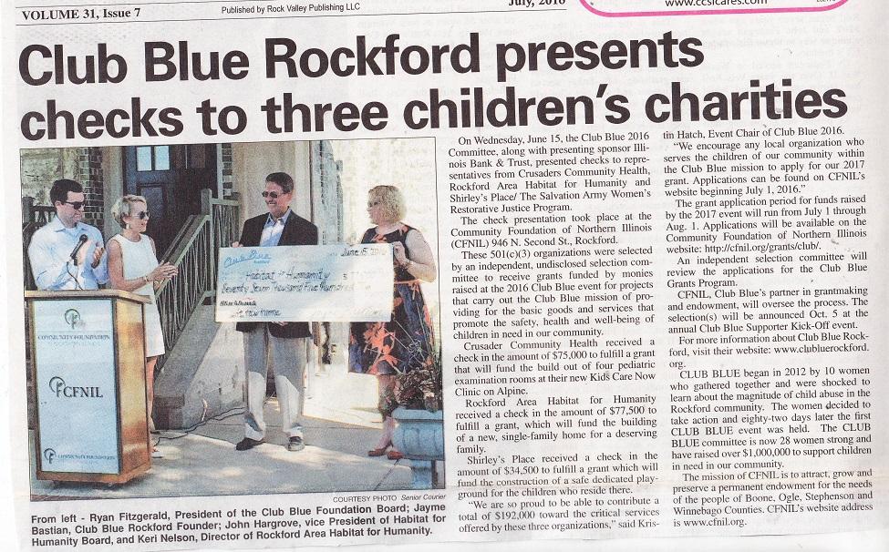 Club Blue Rockford Presents
