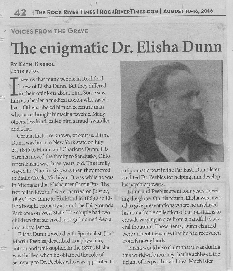 Dr. Elisha Dunn