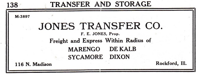 Jones Transfer Company