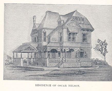 Residence of Oscar Nelson