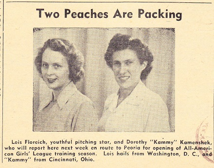 Two Peaches Are