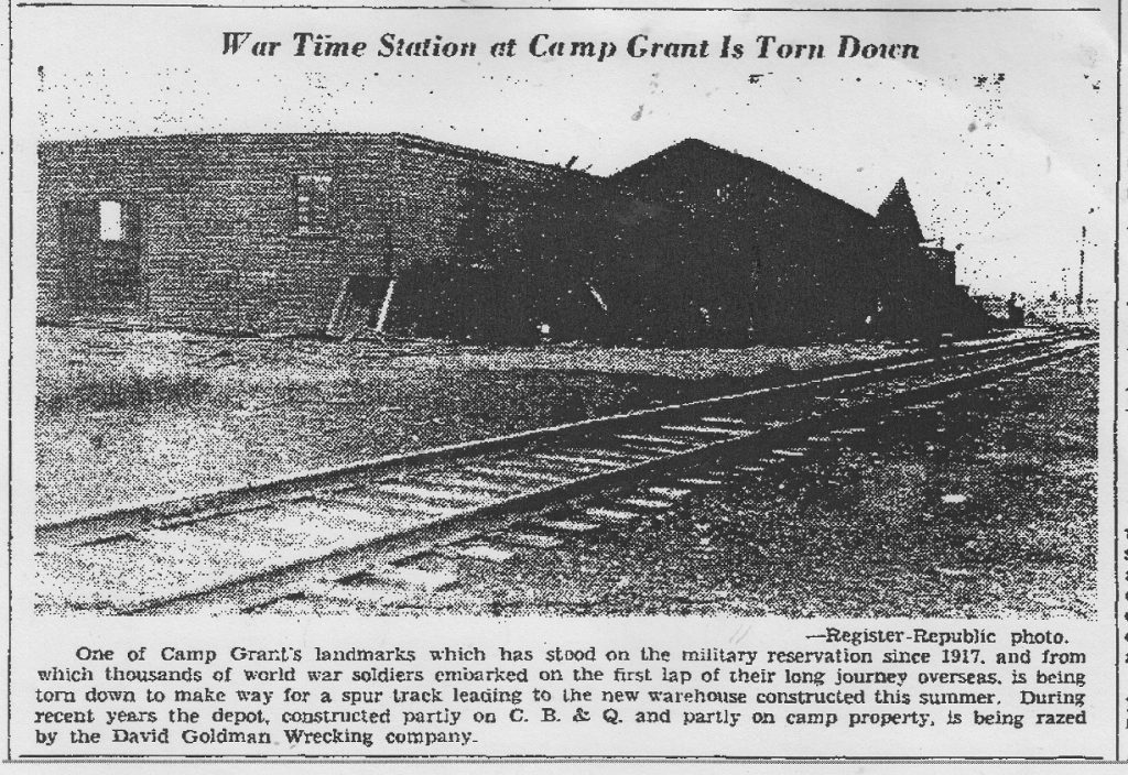 War time train station