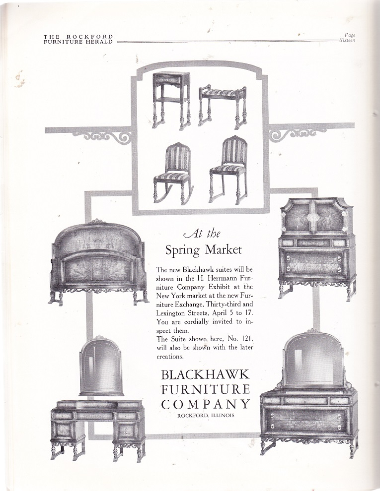 Blackhawk Furniture Co March Rpl S Local History. Blackhawk Furniture   Interior Design