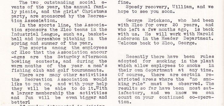 Elco Screw-tinizer, 1947          –           Elco Tool and Screw Corp.