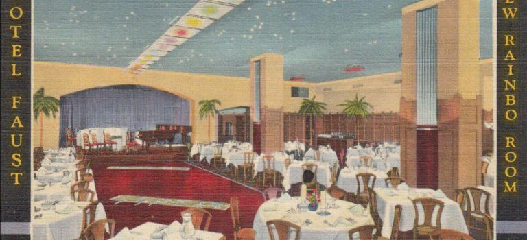 Rainbo Room  Hotel Faust  April 21,1935